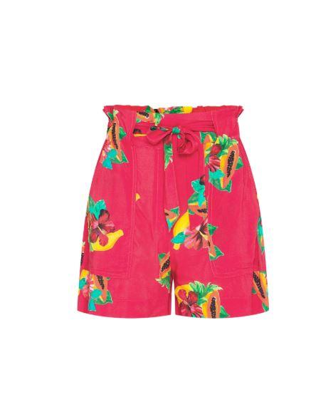 Rood/roze dames short Fabienne Chapot - Olivia Short Tutti frutti