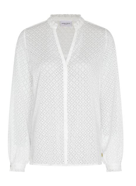 Witte dames blouse Fabienne Chapot - Frida Blouse cream white