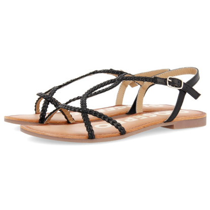 Zwarte dames sandalen Gioseppo - Ossian black