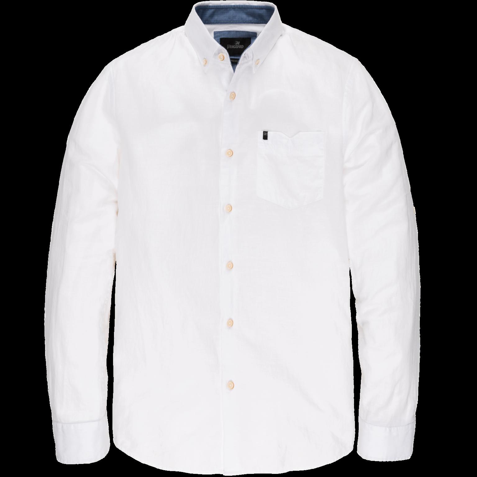 Wit linnen heren overhemd Vanguard - VSI203252 7003