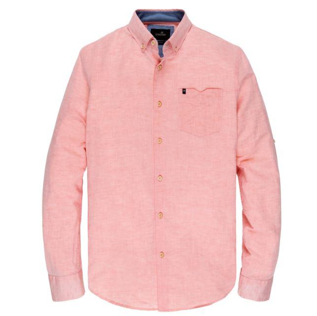 Roze linnen heren overhemd Vanguard - VSI203252 2092