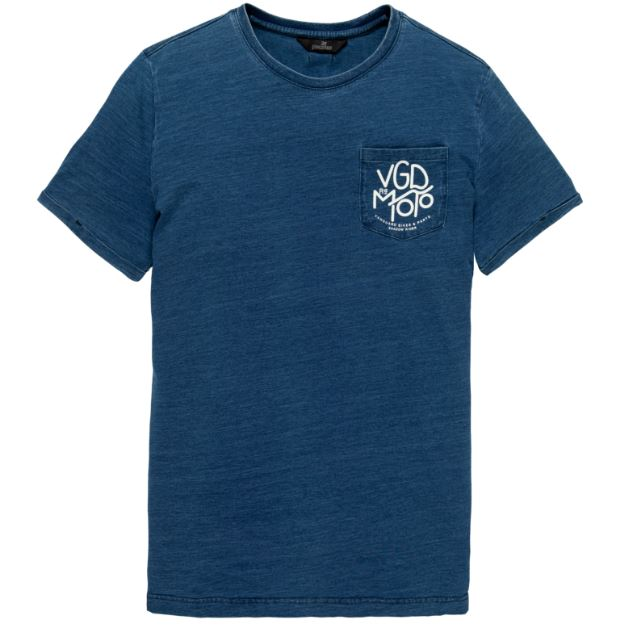 Blauw heren t-shirt Vanguard - VTSS20354 590