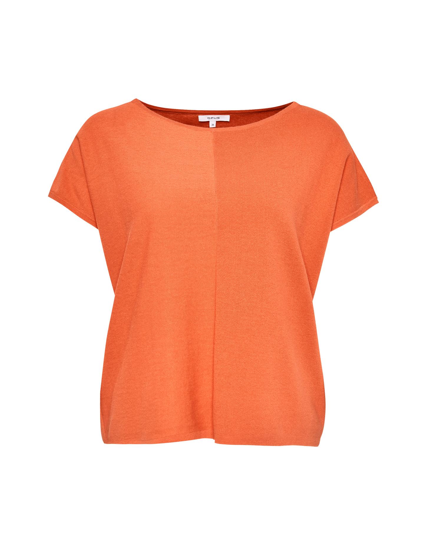 Orange dames top Opus - Preeti 4101