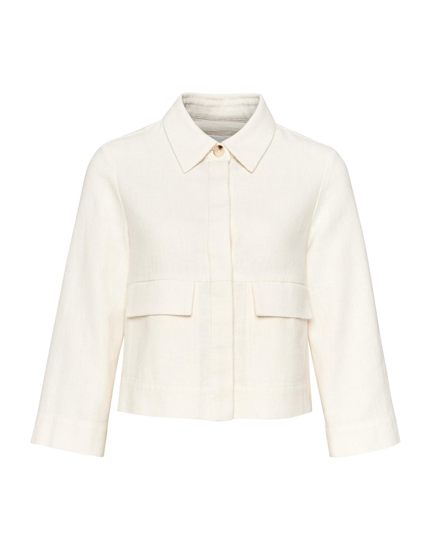 Witte dames jas Opus - Helino 1004