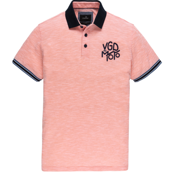 Roze heren polo Vanguard - VPSS203865 2092