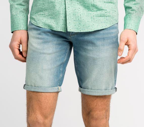 BLauwe heren jeans short Vanguard - VSH202106