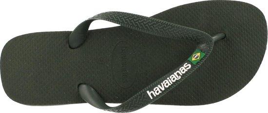 havaianas Brasil logo green olive