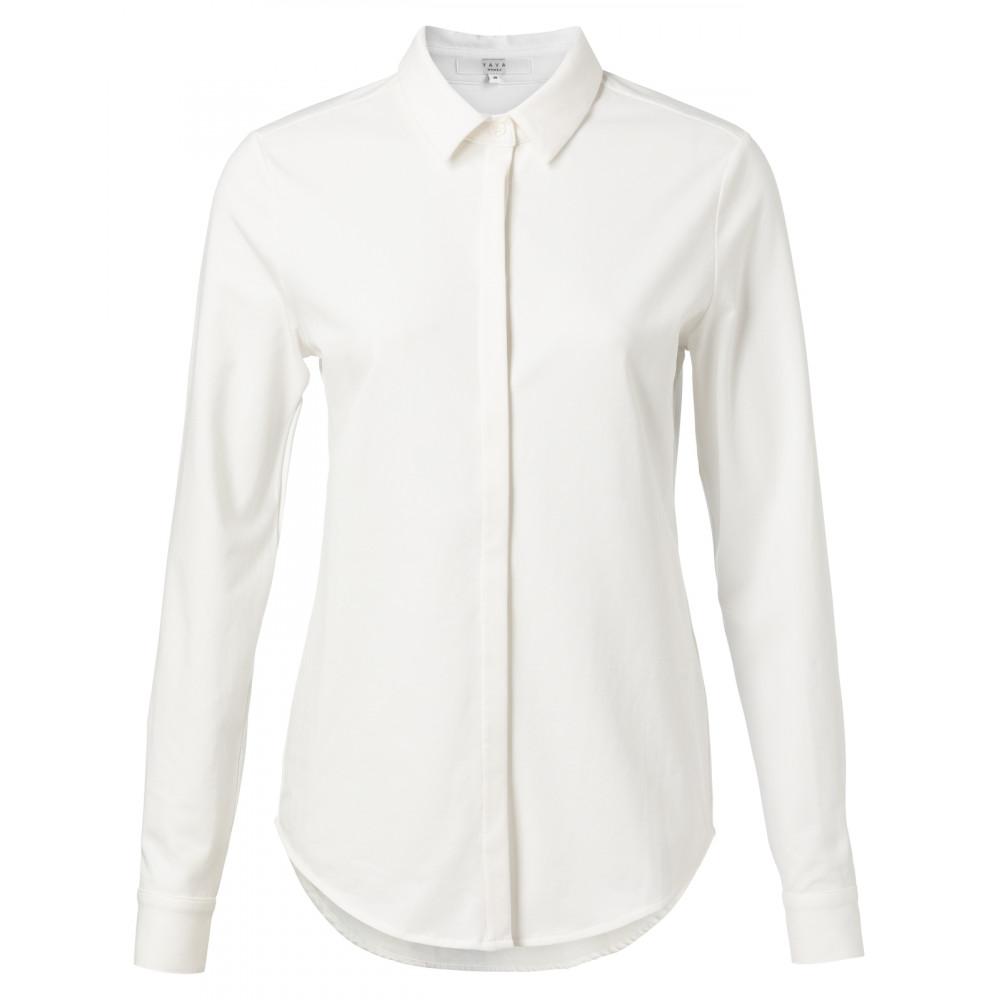 Witte dames blouse YAYA - 1109150-021
