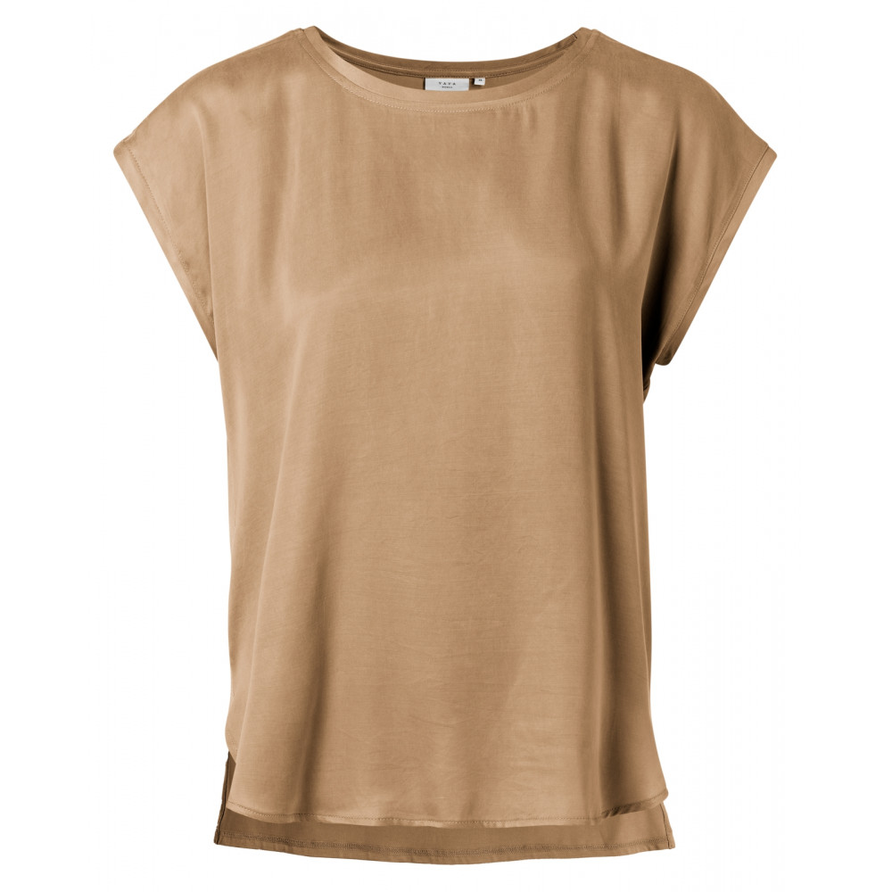 Bruine dames top YAYA - 1901116-021 71320