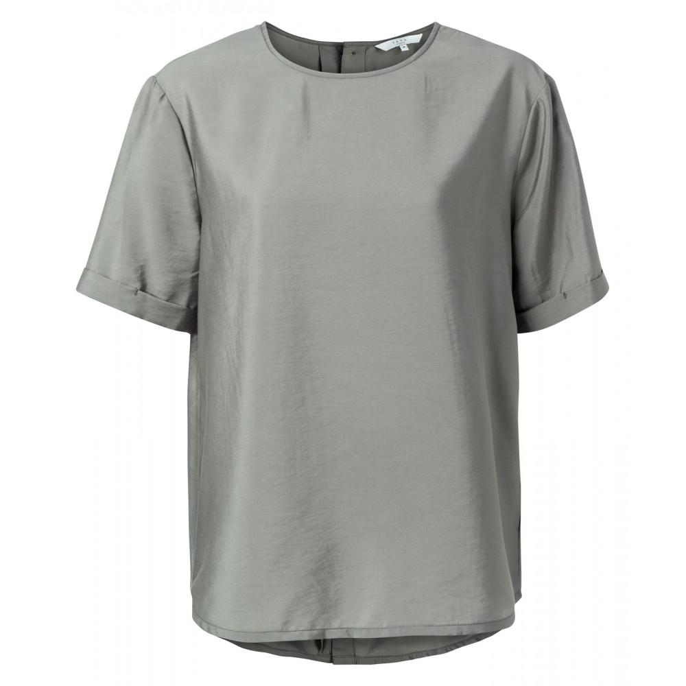 Blauw/grijze dames blouse YAYA - 1901303-021 14800