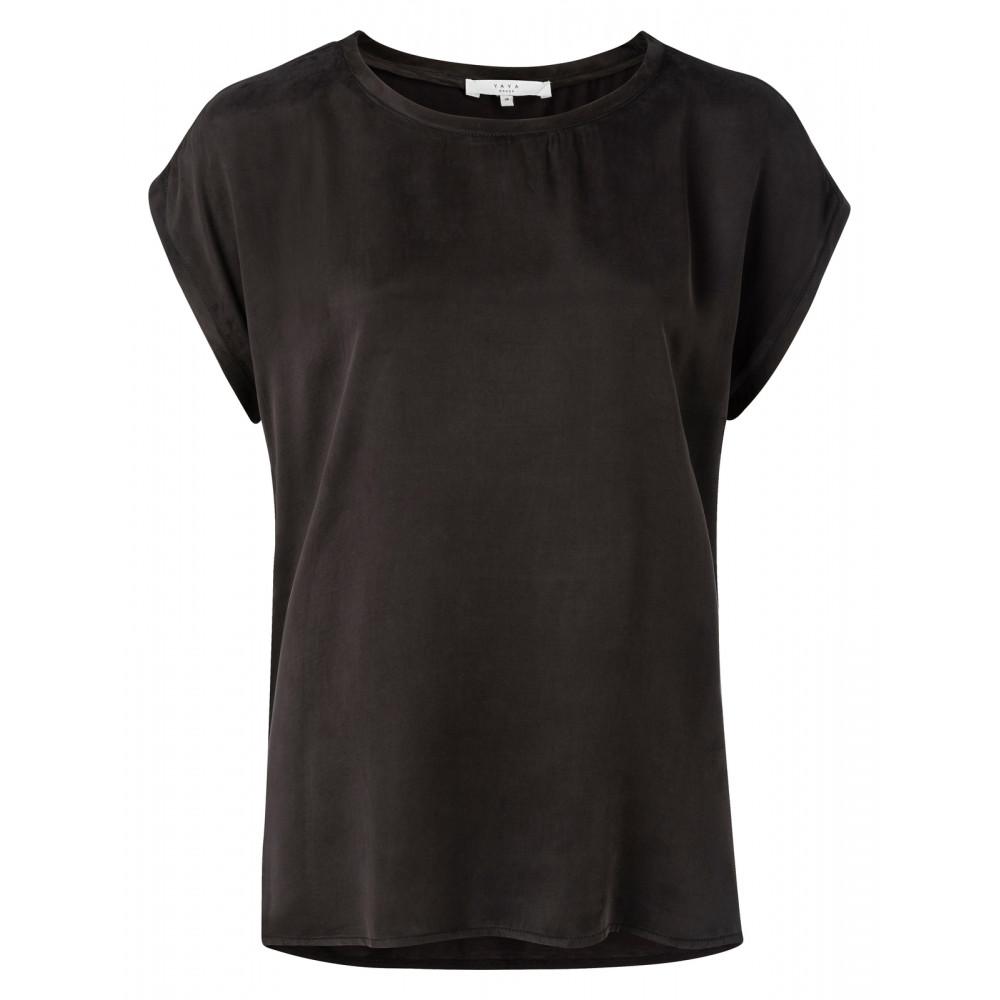 Zwarte dames top YAYA - 1901116N 00001