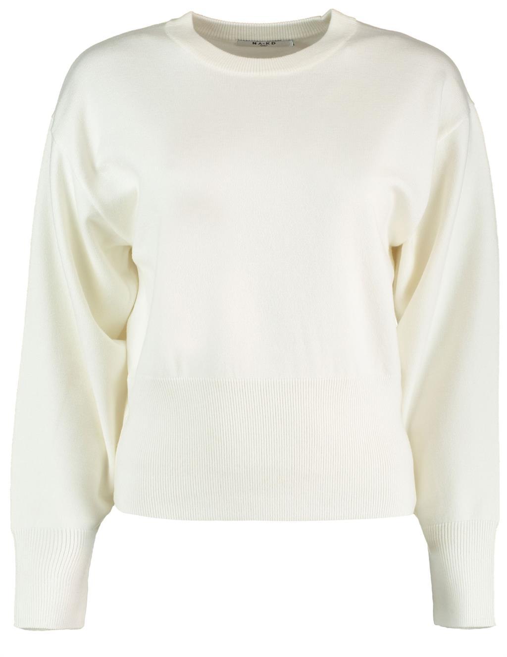 Witte dames trui Na-kd - 1018-004601 off white