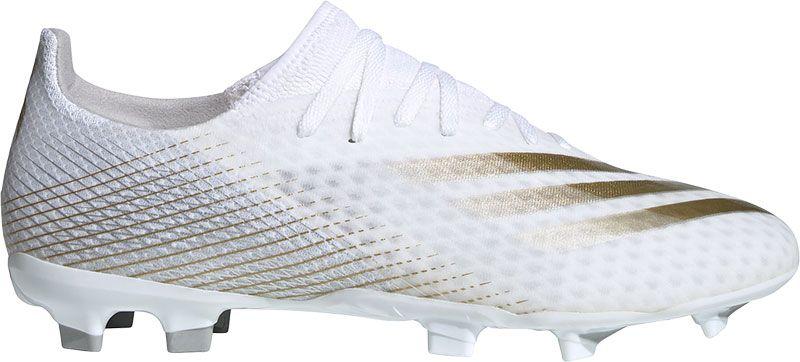 Witte voetbalschoenen Adidas X Ghosted.3 FG - EG8193 FTWWHT/METGOL/SI
