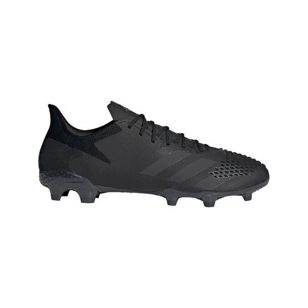 Zwarte voetbalschoenen Adidas Predator 20.2 FG - EF1630 CBLACK/CBLACK/DG