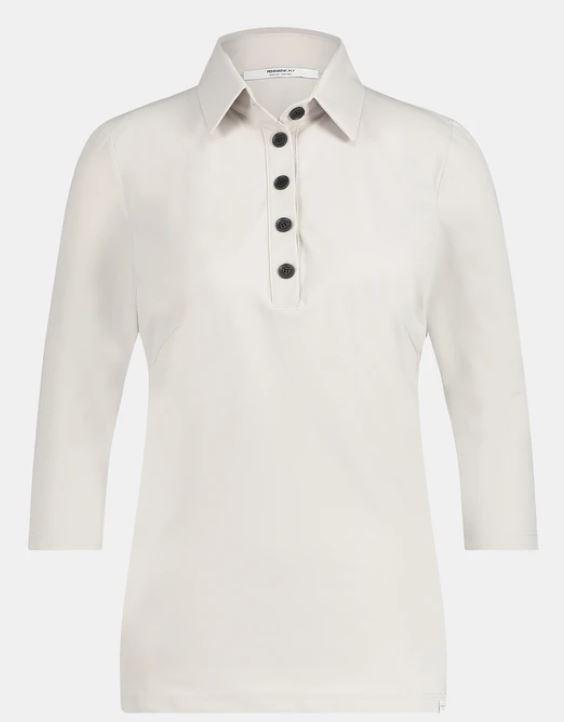 Witte dames top Penn&Ink - W20M-Lux kit