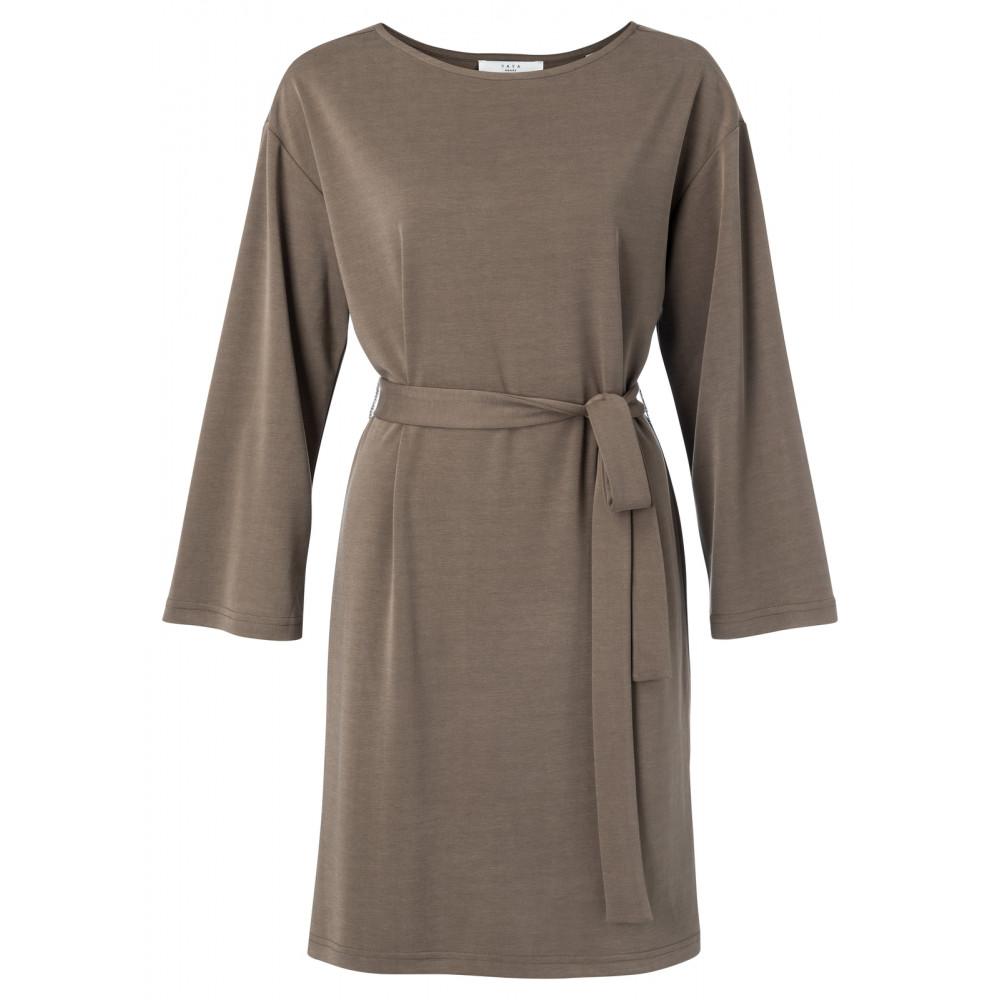 Bruine dames jurk YAYA - 1809244 90809