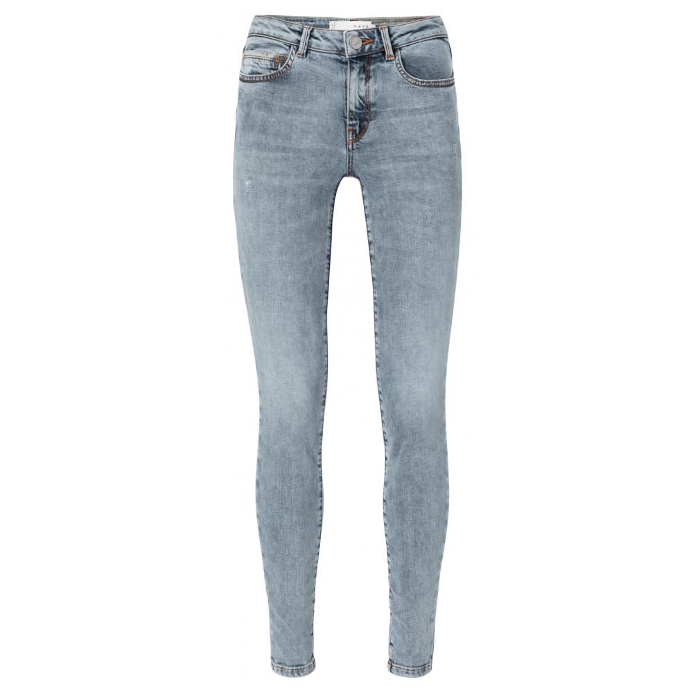Blauwe skinny jeans YAYA - 1201204 01117