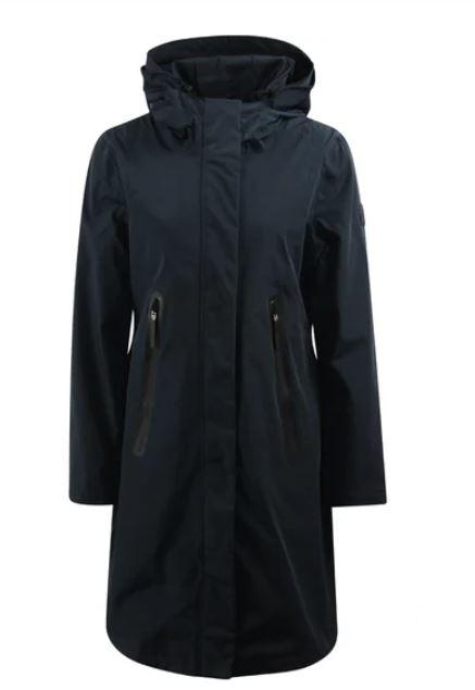 Donkerblauwe dames jas Giacomo - 66.26.177 204