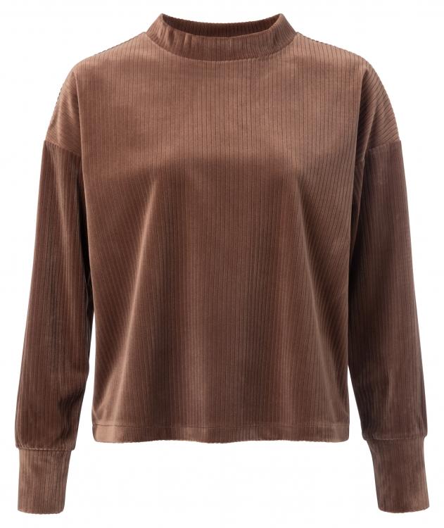 Bruin dames sweatshirt YAYA - 1009341 81222