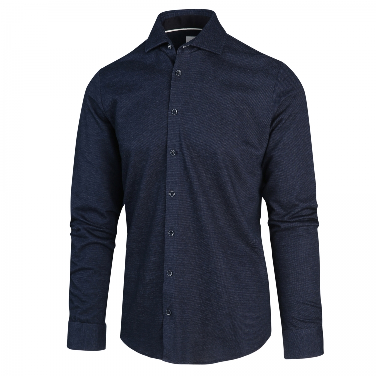 Donkerblauw heren overhemd Blue Industry - 2185.22