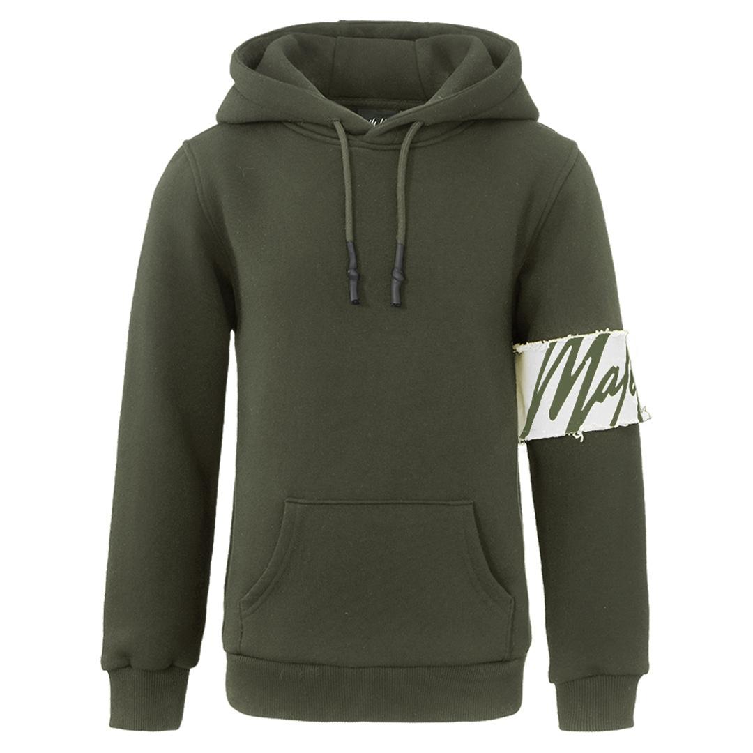 Groene kindertrui Malelions - Captains hoodie