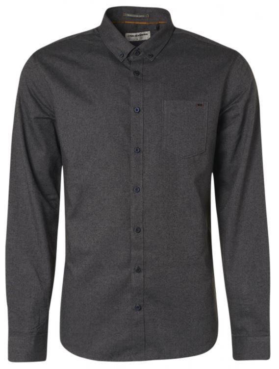 Donkergrijs heren overhemd No Excess - 97410818