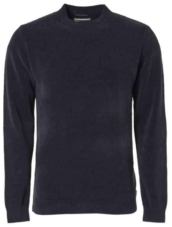 Donkerblauwe heren trui No Excess - 97210923