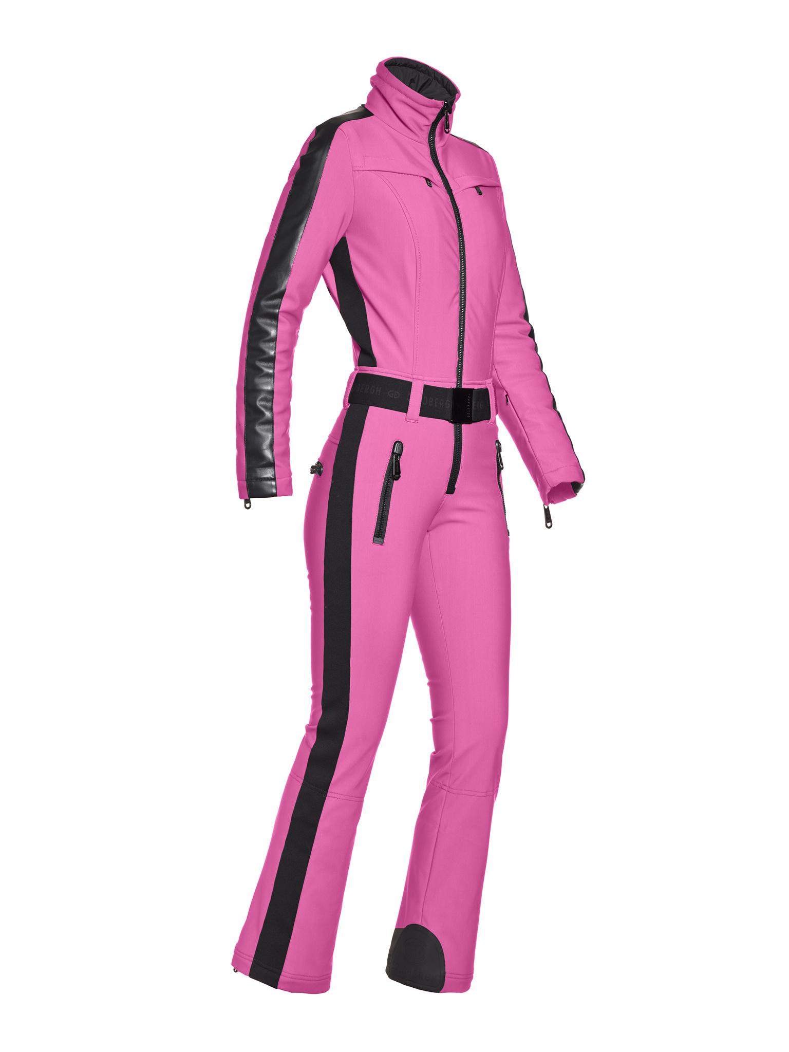 Knalroze dames jumpsuit Goldbergh Phoenix -  GB1690204/415