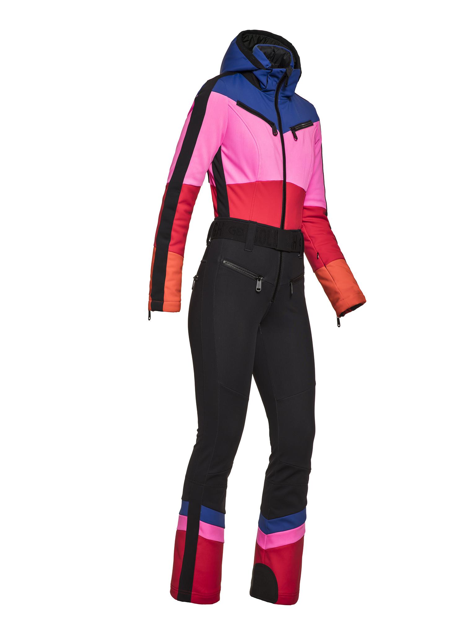 Multi gekleurde jumpsuit Goldbergh Pearl - GB1694204/464
