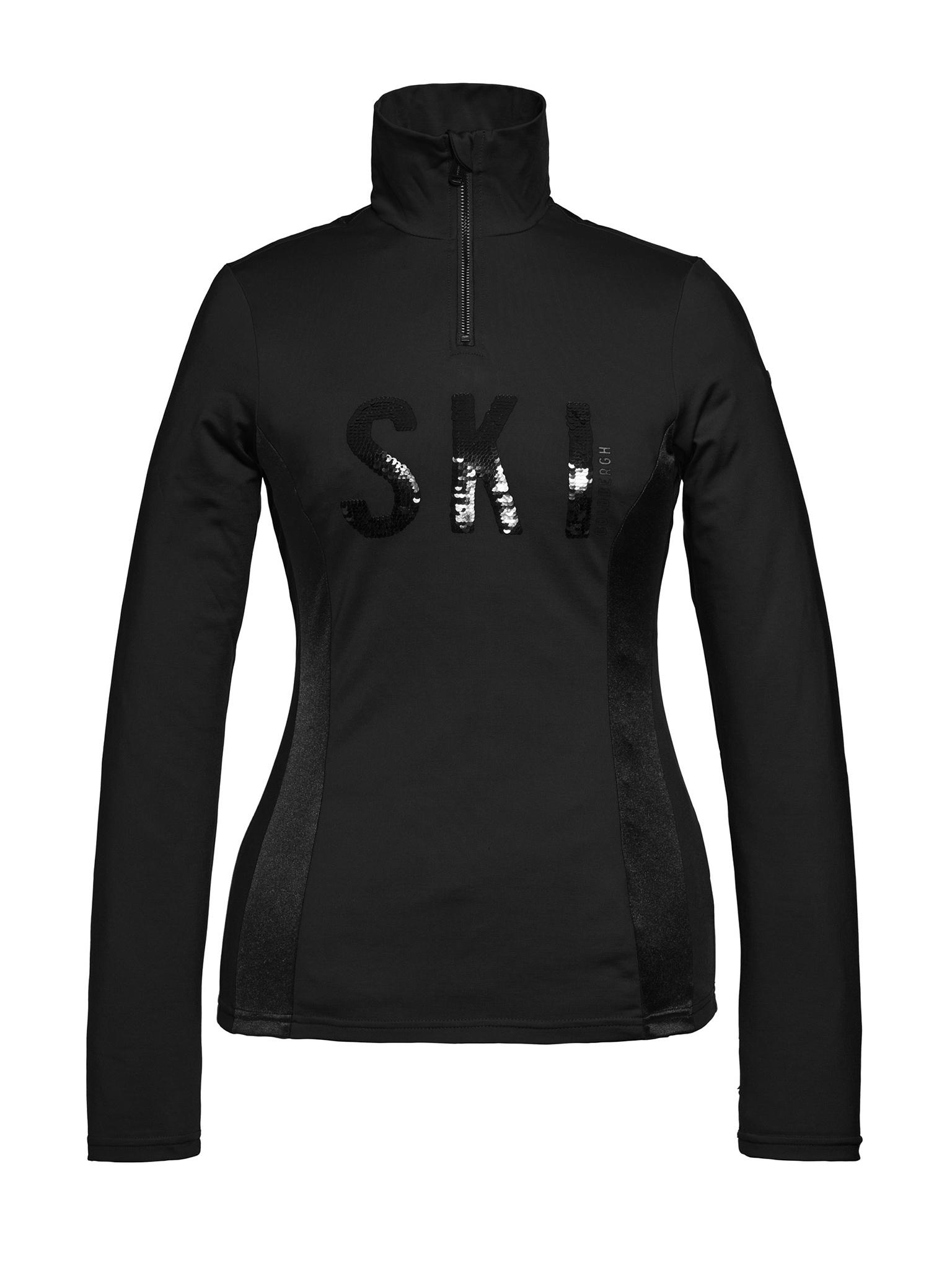 Zwarte dames skipully Goldbergh Hila - GB3012204/900