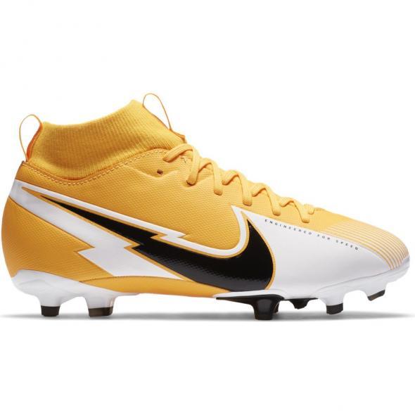 Gele kindervoetbalschoenen Nike JR Superfly 7 Academy FG/MG - AT8120-801