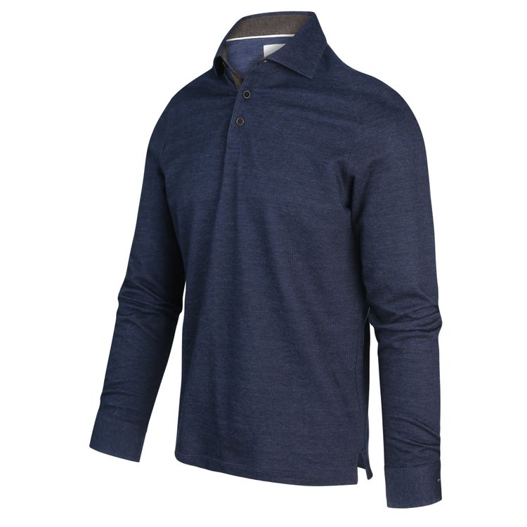 Donkerblauwe heren overhemd Blue Industry - 2181.22