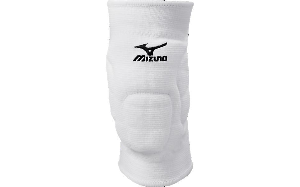 Witte kniebeschermers Mizuno VS-1