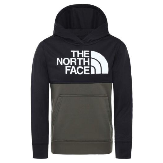 Zwart/groene kindertrui The North Face - Surgent hoodie new taupe