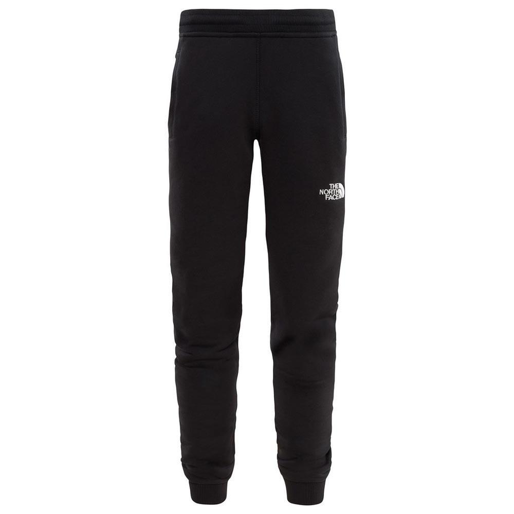Zwarte trainingsbroek kinderen The North Face - Fleece pants