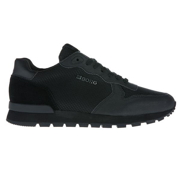 Zwarte heren sneakers Björn Borg R605 Low KPU - 1842456501 999