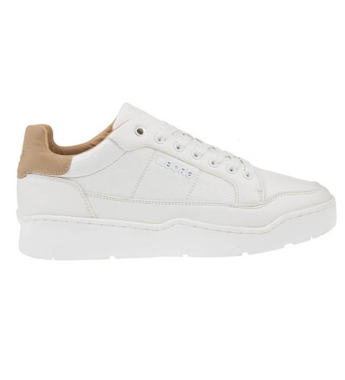 Witte heren sneakers Björn Borg L200 TMP - 2012540502 1000