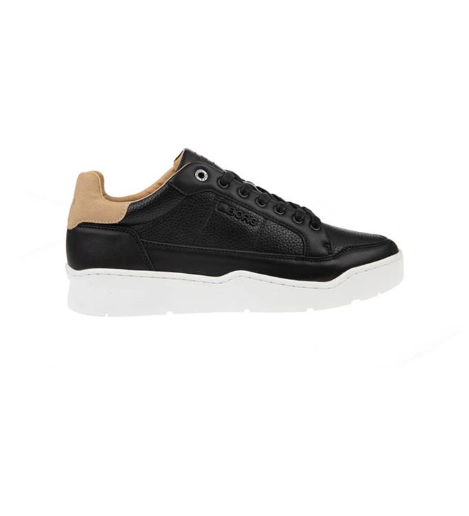 Zwarte heren sneaker Björn Borg L200 TMP - 2012540502 999
