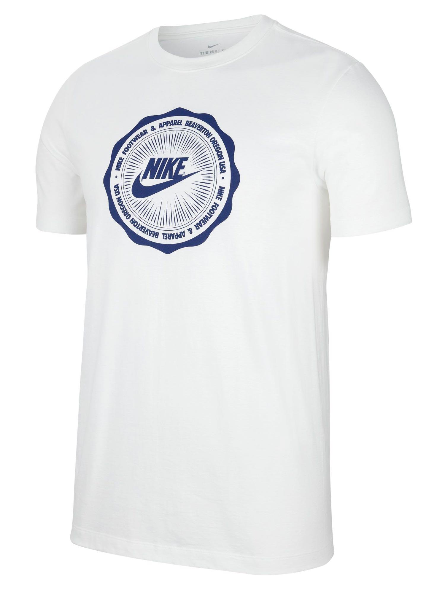 Wit Tshirt Nike CW0481-100