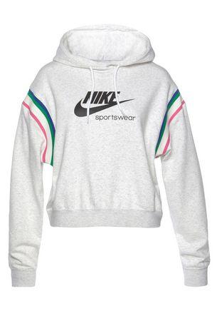 Ecru dames hoodie Nike CU5923-051