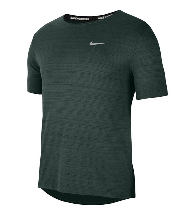 Groen heren hardloopshirt Nike CU5992-397