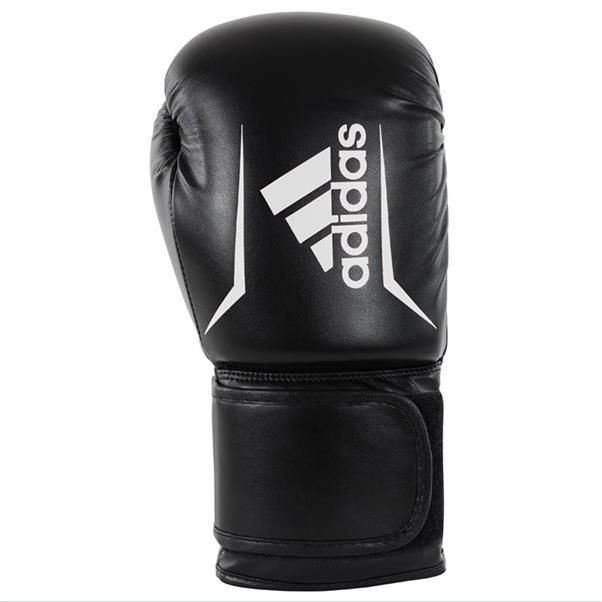 Zwarte bokshandschoenen Adidas - AdisBG50 black white