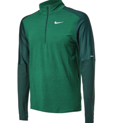 Groen heren tshirt Nike Dri-fit Element - CU6073-397
