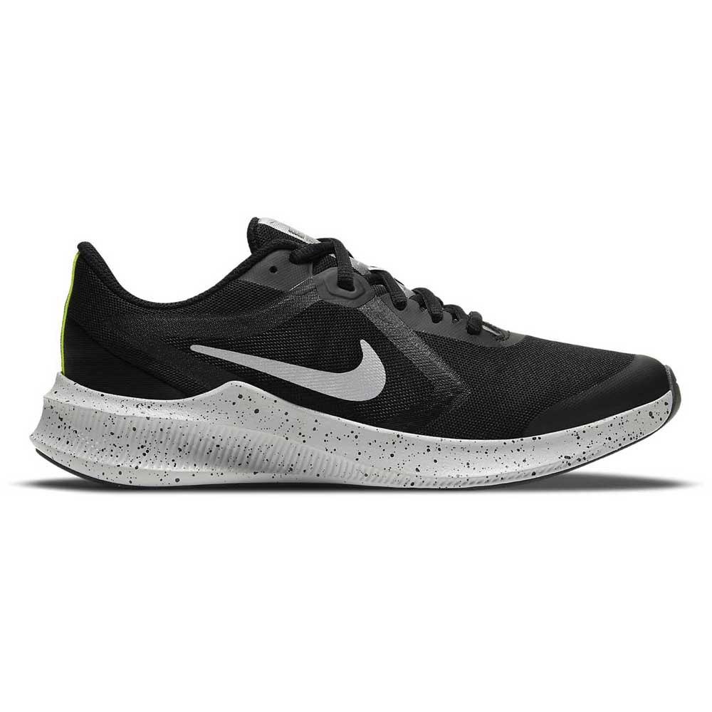Zwarte kinderschoenen Nike Downshifter 10 Gs - CT3876-001