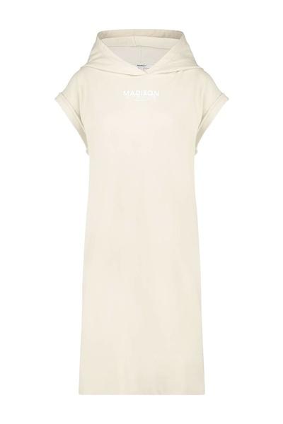 Witte dames jurk Penn&Ink - S21F870 pelican/white