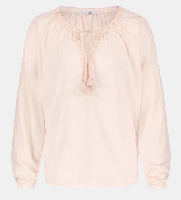 Roze dames blouse Penn&Ink - S21F860 blossom