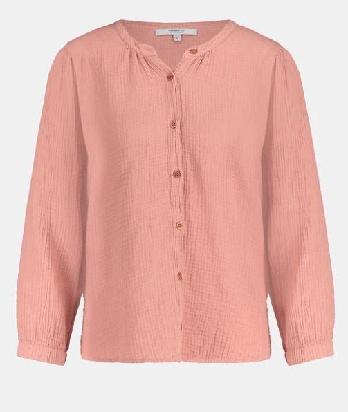Roze dames blouse Penn&Ink - S21F531 blossom