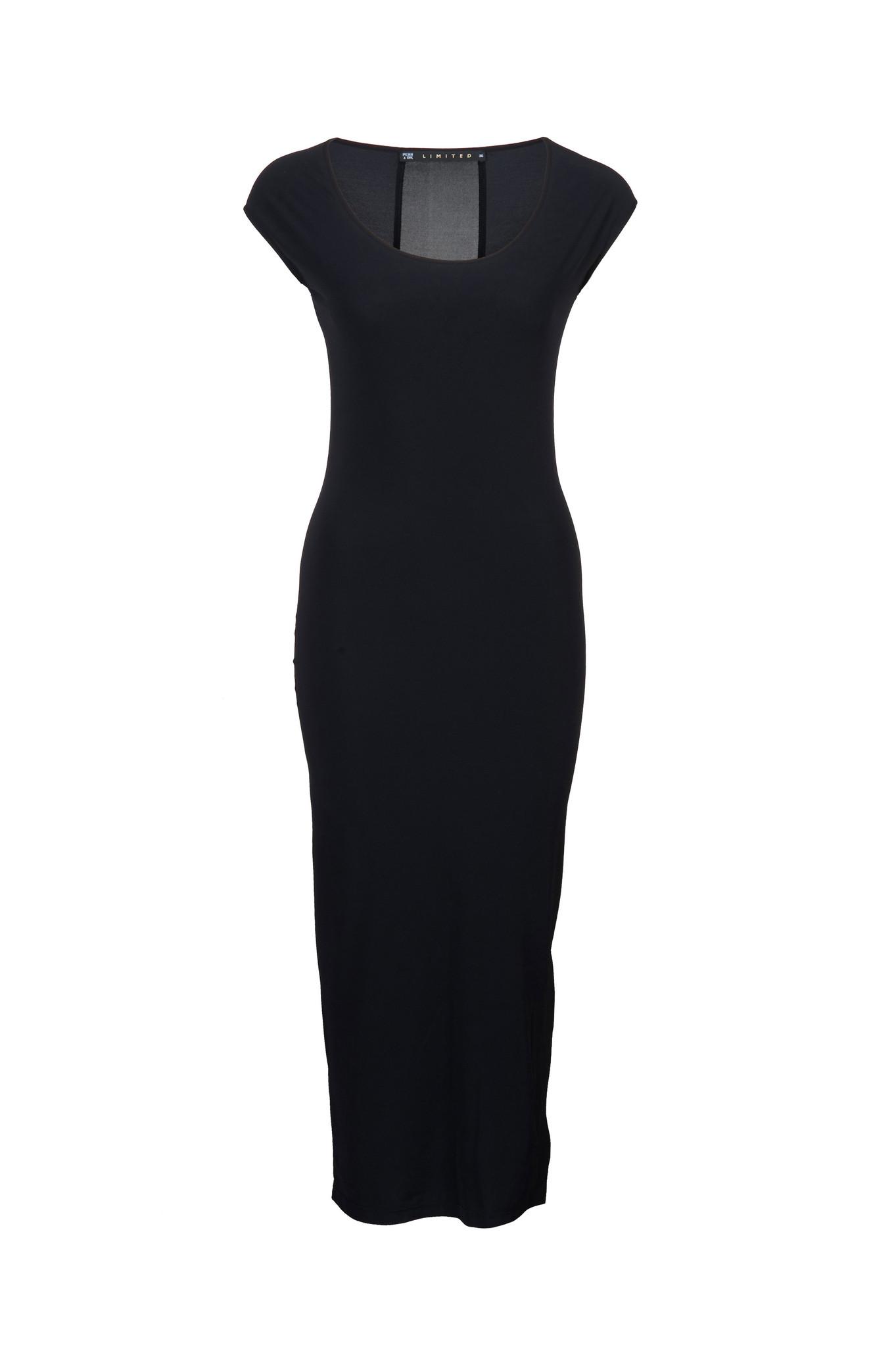 Zwarte jurk Penn & Ink S216N091
