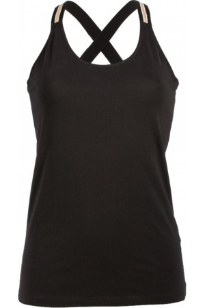 Zwarte dames top Summum 3s3887-3779