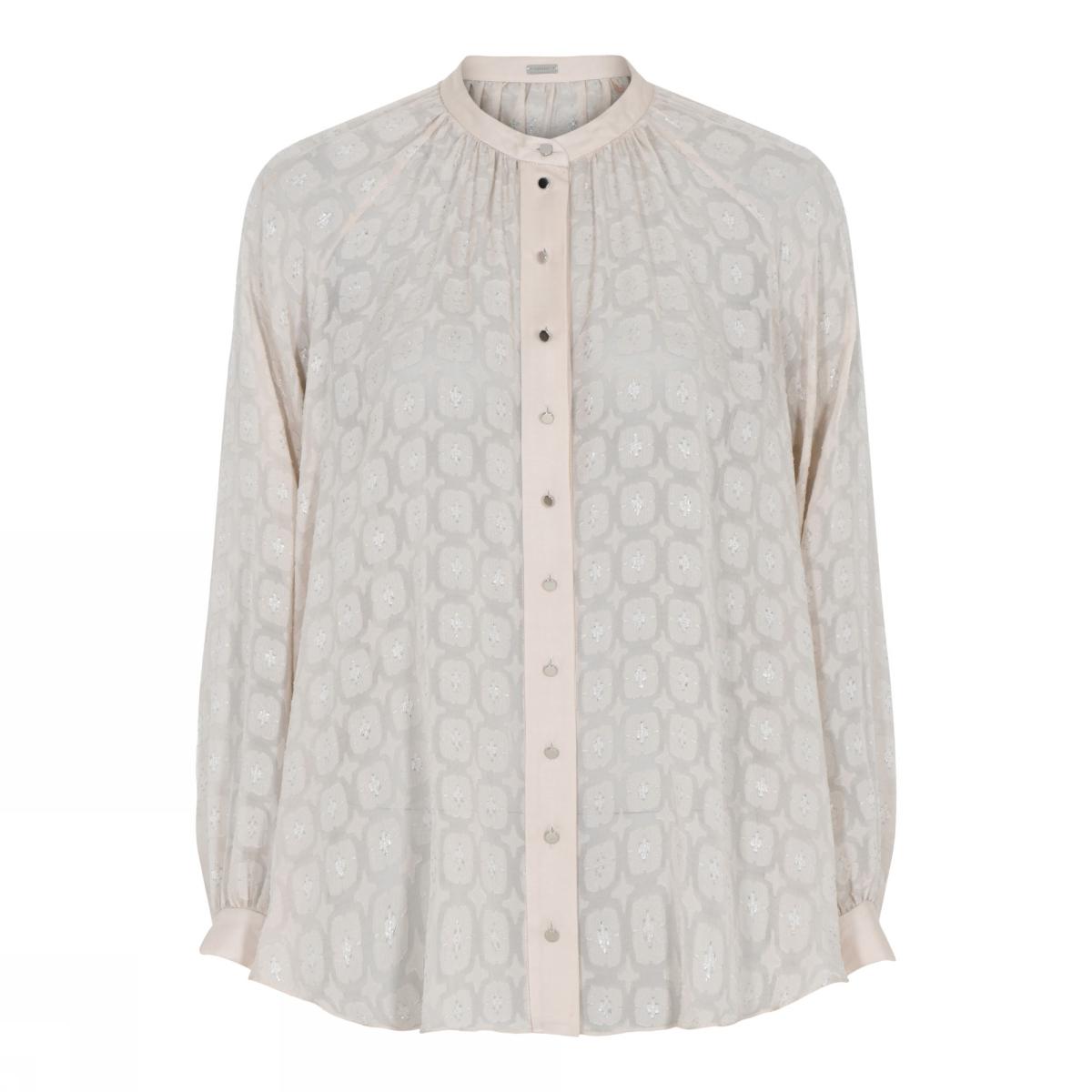 Roze dames blouse Gustav - 7359-0-789